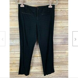 Cartonnier Anthropologie 6 Black Pixie Ankle Pants